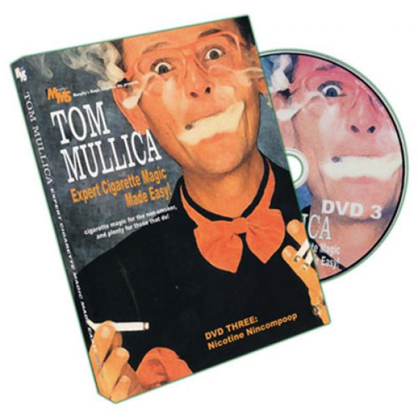 Expert Cigarette Magic Made Easy - Vol.3 by Tom Mullica - DVD