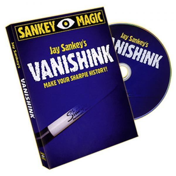 Vanishink by Jay Sankey - DVD