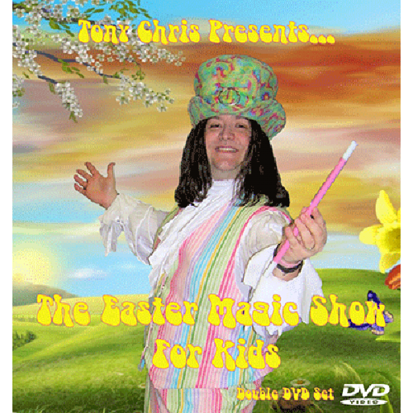 Easter magic Kids Show by Tony Chris - 2 DVD Set