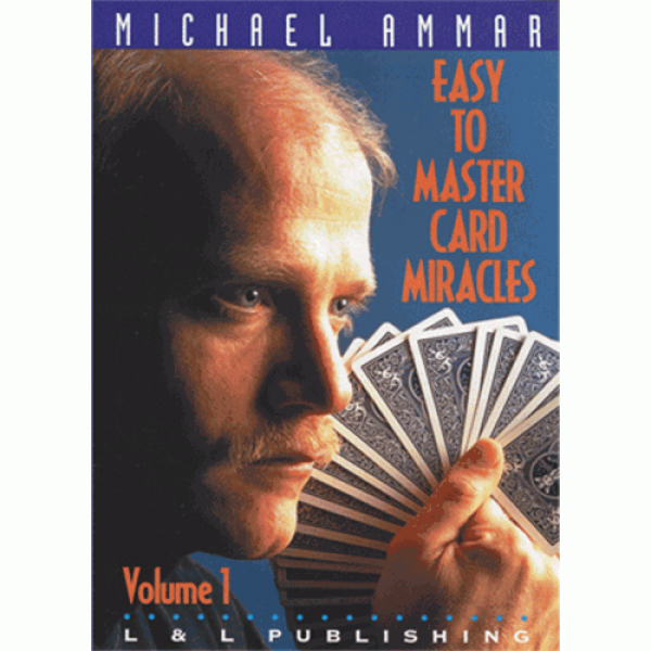 Easy to Master Card Miracles Volume 1 by Michael Ammar video (DVD)