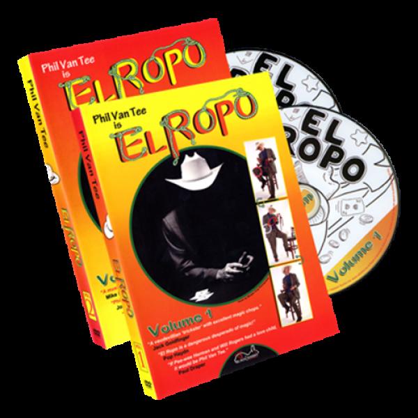 Phil Van Tee is El Ropo 2 Disc Set by Phil Van Tee Black Rabbit Series Issue #3 - DVD