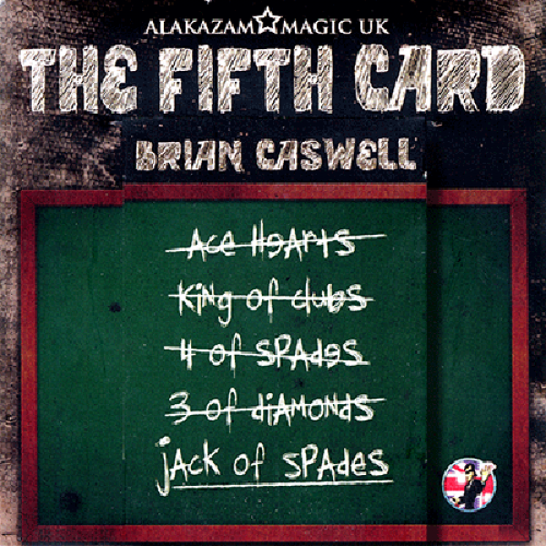 The Fifth Card (DVD and Gimmicks) by Brian Caswell & Alakazam Magic