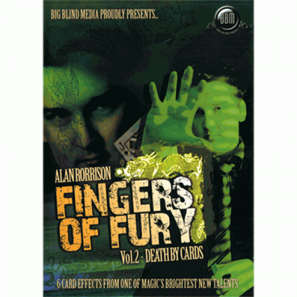 Fingers of Fury Vol.2 (Death By Cards) by Alan Ror...