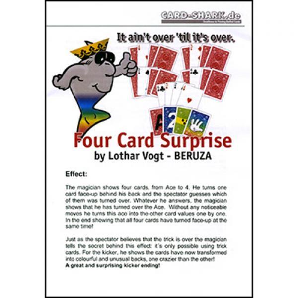 Four Card Surprise by Lothar Vogt