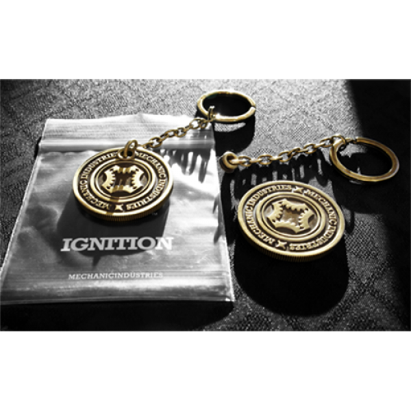 Ignition (Bronze Keyring + gimmick) by Mechanic In...
