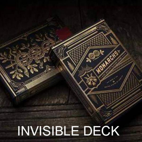 Invisible Deck Monarchs  Playing Cards by Theory11