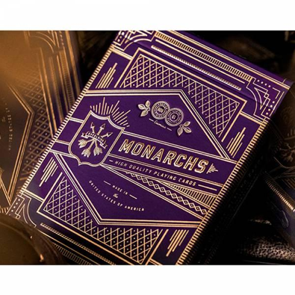 Invisible Deck Monarchs  Playing Cards (Purple) by...