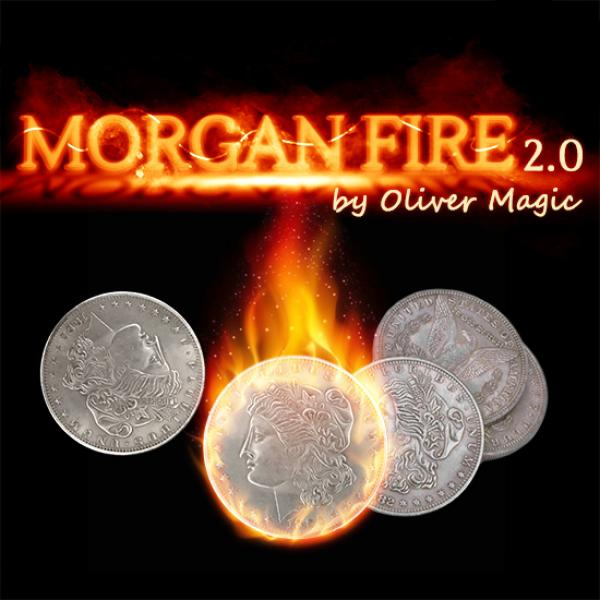 Morgan Fire Set (1 Fire Coin + 3 Morgan Coins + 1 ...