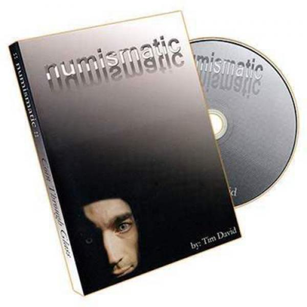 Numismatic by Tim David - DVD and Gimmick