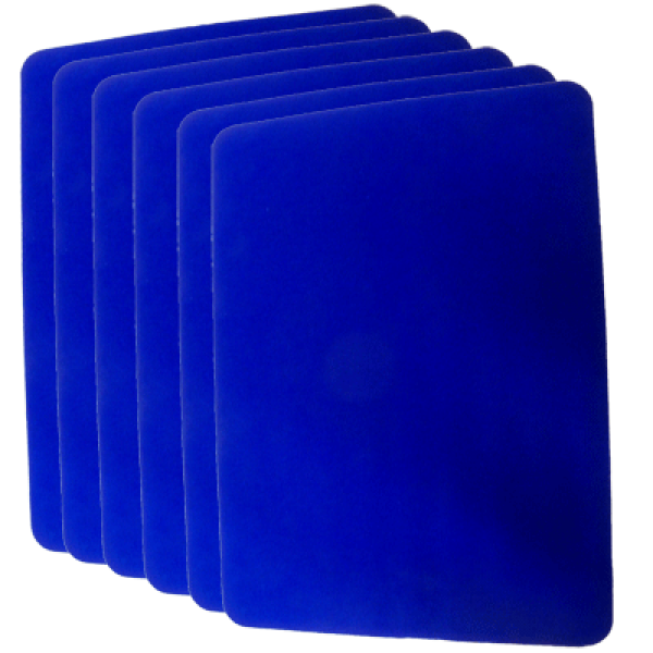 Small Close Up Pad 6 Pack Blue (8 inch x 10 inch) ...