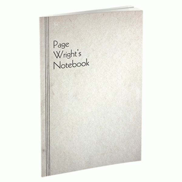 Page Wright's Notebooks by Conjuring Arts Res...