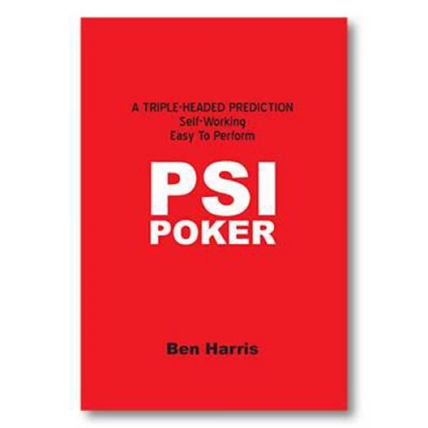 PSI-Poker by Ben Harris - Book