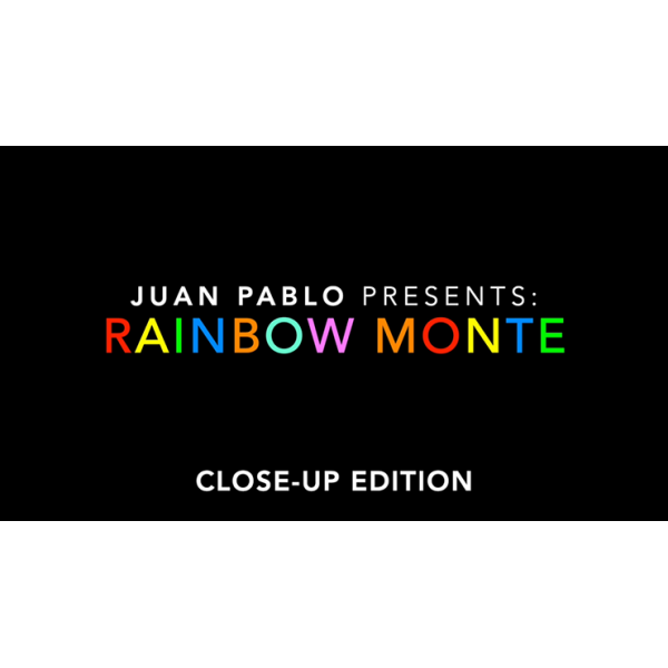 Rainbow Monte (Close Up) by Juan Pablo