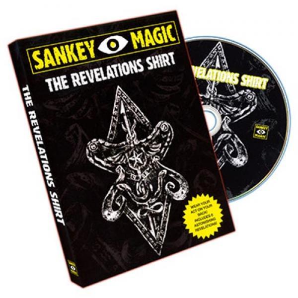 Revelations Shirt (MEDIUM, With DVD) by Jay Sankey