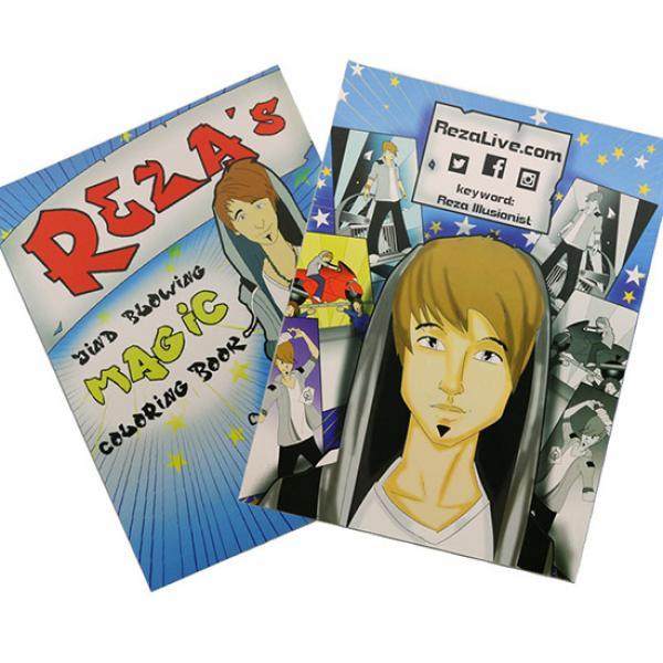 Reza's Magic Coloring Book (27.5 x 24.5 cm)
