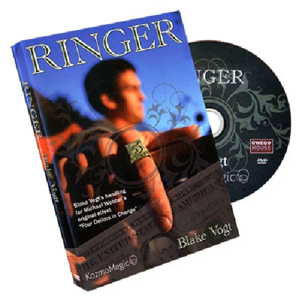 Ringer (DVD and Gimmick) by Blake Vogt and Kozmomagic