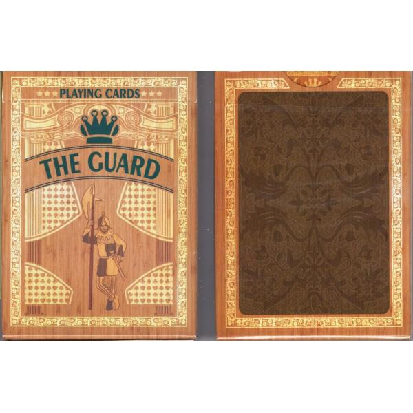 The Guard (Oak) Playing Cards USPCC Custom Limited...