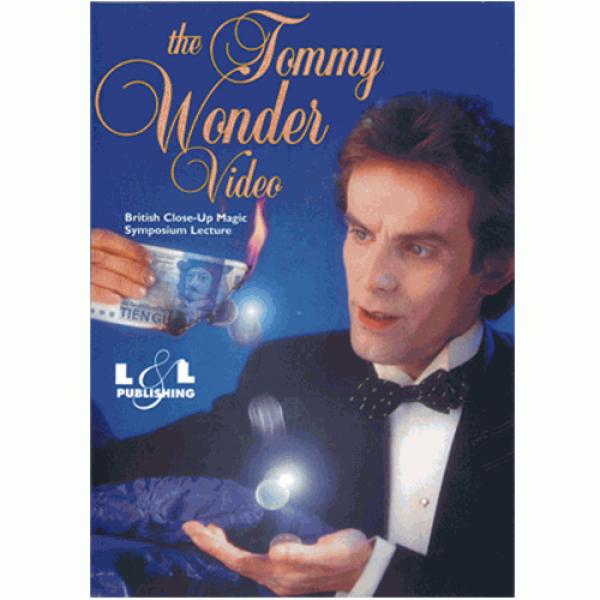 Tommy Wonder at British Close-Up Magic Symposium v...