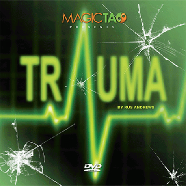 Trauma by Rus Andrews and MagicTao - DVD and Cards