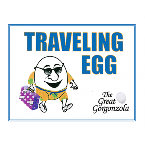 Traveling Egg by The Great Gorgonzola