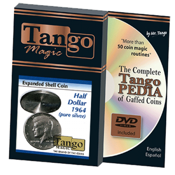 Tango Silver Line Expanded Shell Silver Half Dolla...