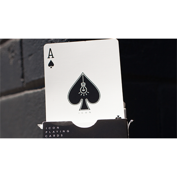 Mazzo di carte ICON BLK Playing Cards by Pure Imagination Project
