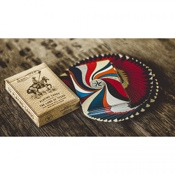 Mazzo di carte Deluxe Lone Star Playing Cards by Pure Imagination Project