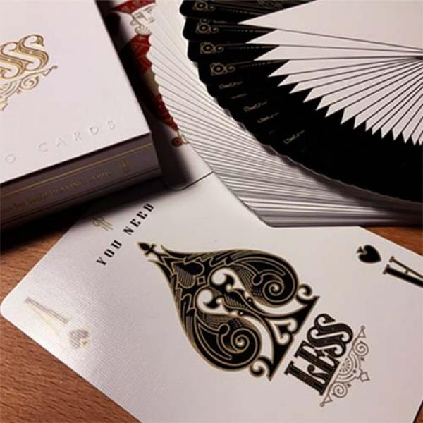 Less Playing Cards (Gold) by Lotrek