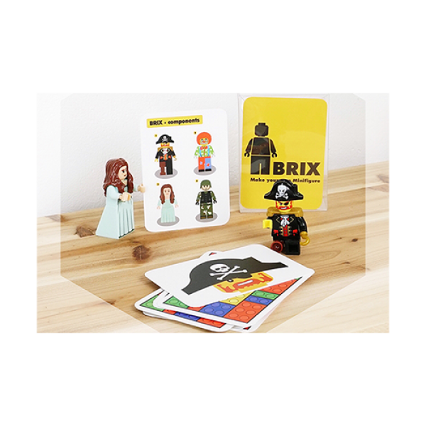 BRIX (Gimmick and Online Instructions) by Mr. Pearl and ARCANA