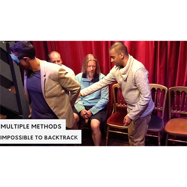 Multisensory Bags (Gimmicks and Online Instructions) by Luca Volpe , Alan Wong and Paul McCaig