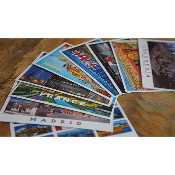 Vortex Magic Presents DESTINATION by Philip Ryan (Svengali Postcards)