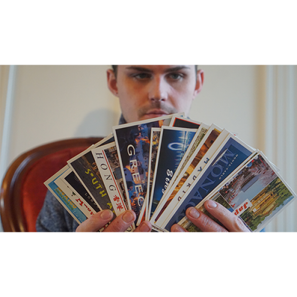 Vortex Magic Presents Intuitive Destination by Philip Ryan - (Invisible Deck Postcards)