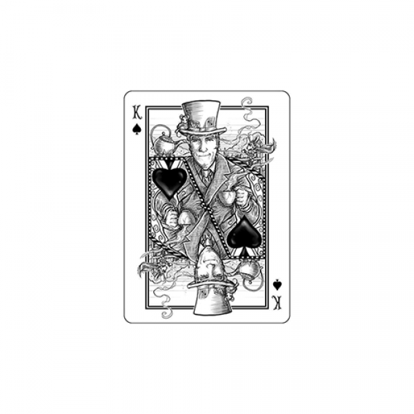 Mazzo di carte Bicycle White Rabbit Playing Cards