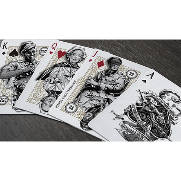 Mazzo di carte TOP ACES of WWII (Standard Edition) Playing Cards