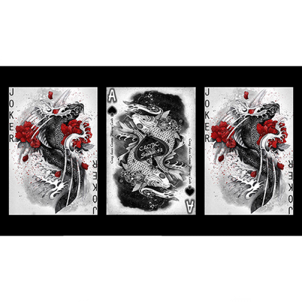 Mazzo di carte Silver Dragon (Standard Edition) Playing Cards by Craig Maidment