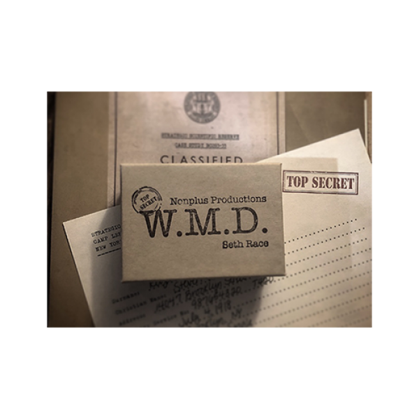 W.M.D. (Gimmick and Online Instructions) by Seth Race