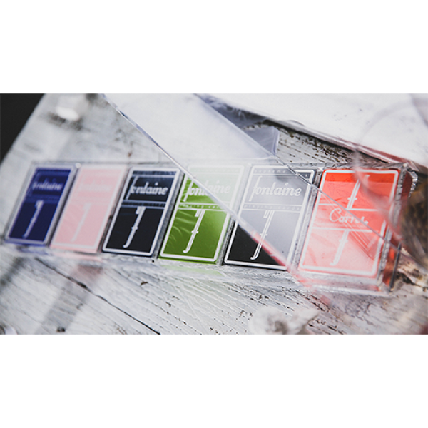 Crystal Playing Card Display 6 Deck Case by TCC