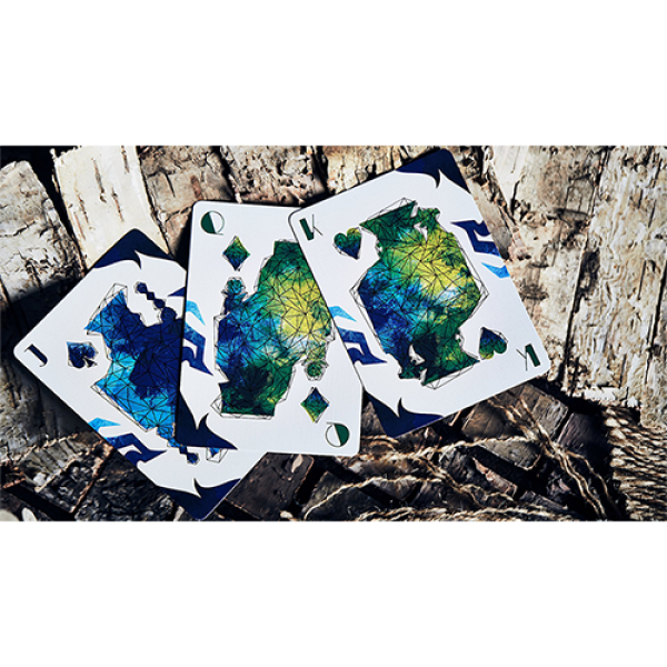 Lonely Wolf Playing Cards by Bocopo