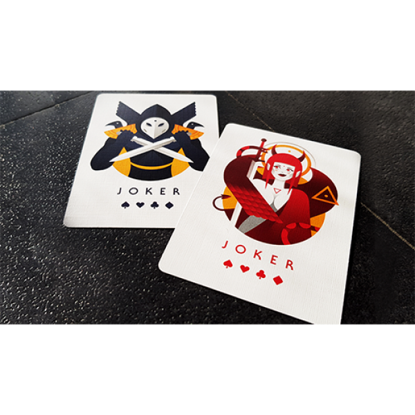 Mazzo di carte Betrayers Tenebra Playing Cards by Giovanni Meroni