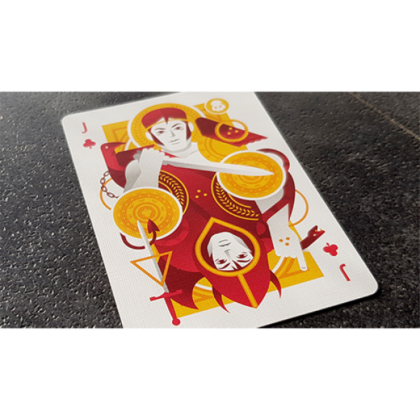 Mazzo di carte Limited Edition Betrayers Veritas Playing Cards by Giovanni Meroni