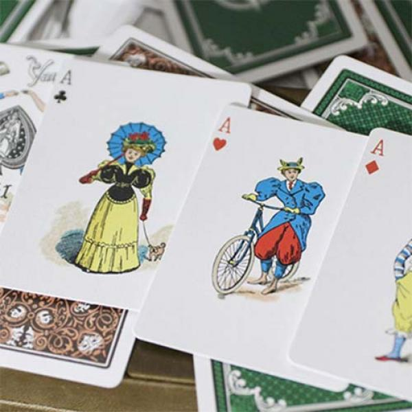 Limited Edition Late 19th Century Vanity (Clown) Playing Cards