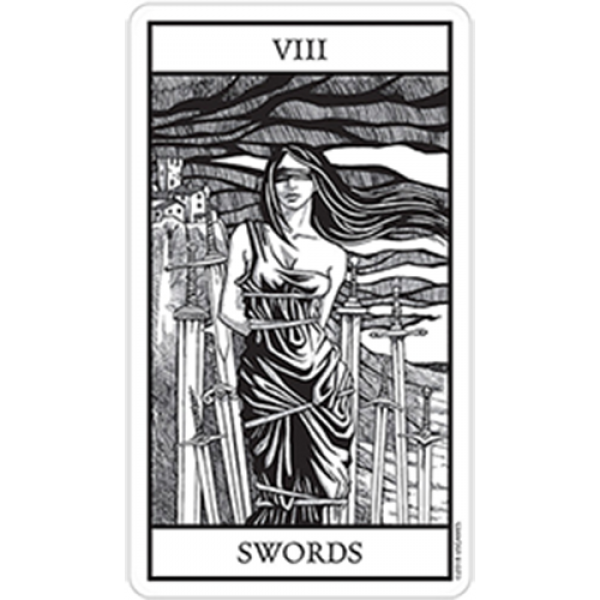 Bianco Nero (Black and White) Tarot Cards