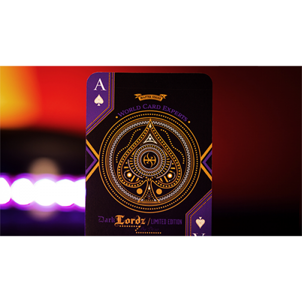 Deluxe Foiled Limited Edition Dark Lordz Royale (Purple) by De'vo