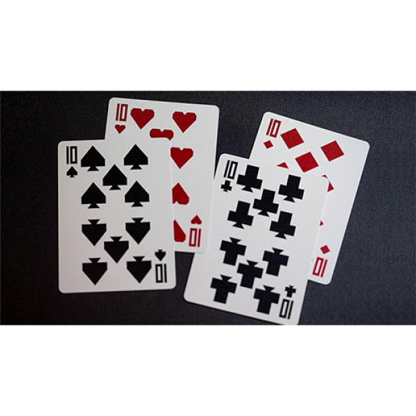 Limited Edition Red Labyrinth Playing Cards (Numbered and Sealed) by Kings Wild Project