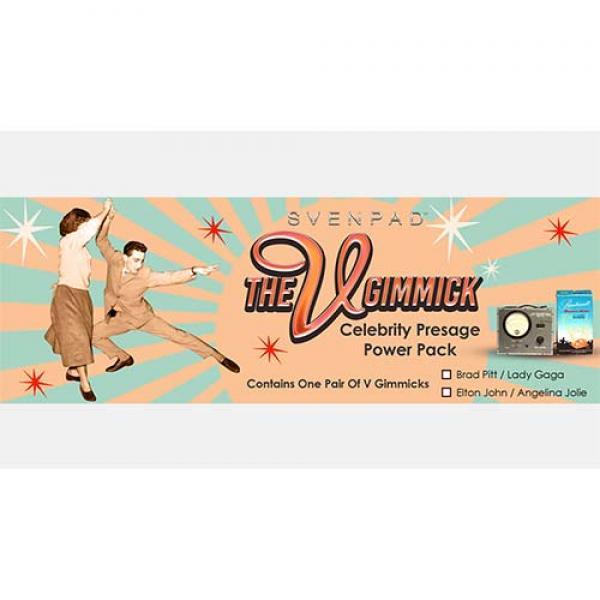 SvenPad® Celebrity Presage V Gimmick Power Pack (Elton/Jolie)