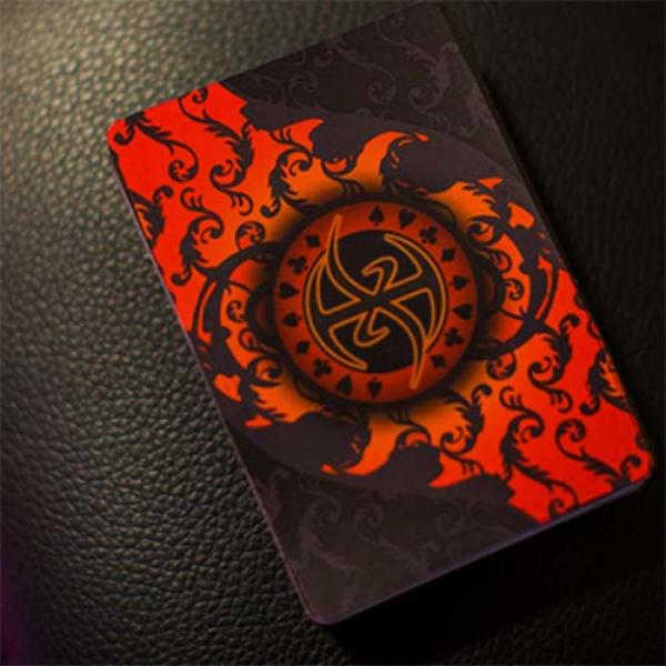 Pro XCM Demon (Foil) Playing Cards by De'vo vom Schattenreich and Handlordz