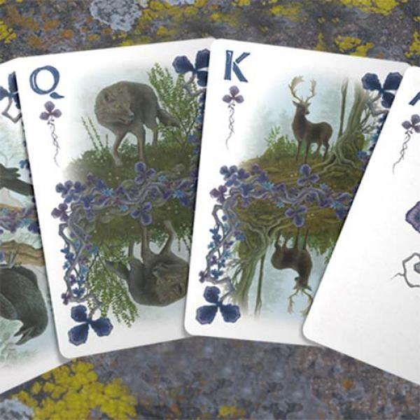 Faunae Veiled Edition Playing Cards by Brain Vessel