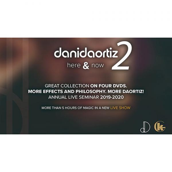 Here & Now 2 (4 DVD Set) by Dani DaOrtiz - DVD