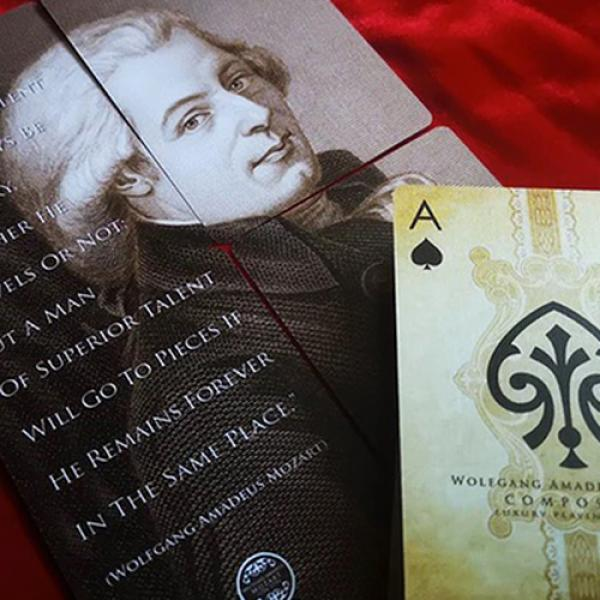 Wolfgang Amadeus Mozart (Composers) Playing Cards