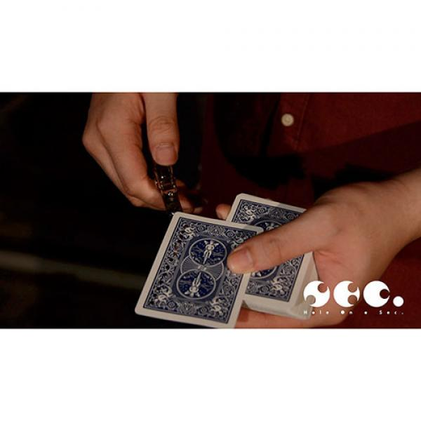 Hole On A Sec Blue By Zamm Wong & Magic Action